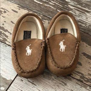 Toddler boy POLO house shoe moccasins